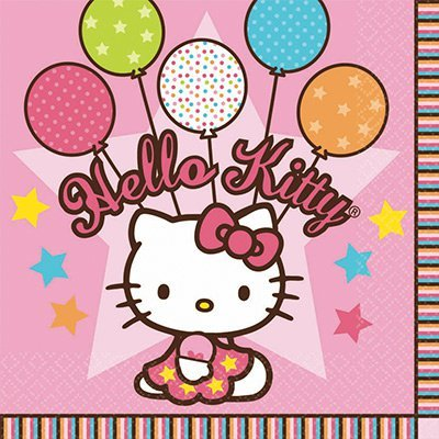 Салфетка Hello Kitty, 16 штук 1502-0930