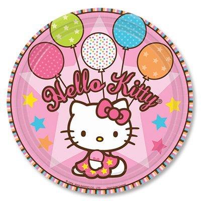 Тарелка Hello Kitty, 17 см, 8 штук 1502-0931