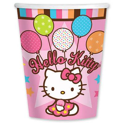 Стакан Hello Kitty, 8 штук 1502-0932