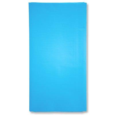 Скатерть п/э голубая Карибы, 1,4х2,6 м 1502-1055