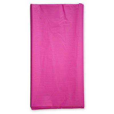 Скатерть п/э ярко-розовая, 1,4х2,6 м 1502-1057