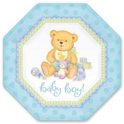 Тарелки Медвежонок Мальчик 25см, 8 штук 1502-1065