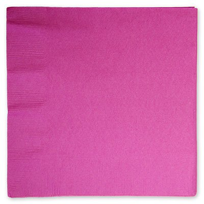 Салфетки Ярко-Розовые, 16 штук 1502-1092