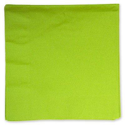 Салфетки зеленые Киви 33см, 16 шт 1502-1096