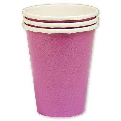 Стаканы Ярко-розовые, 8 штук 1502-1099