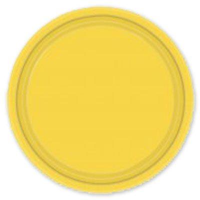 Тарелка Солнечно-Желтая, 17 см, 8 штук 1502-1104