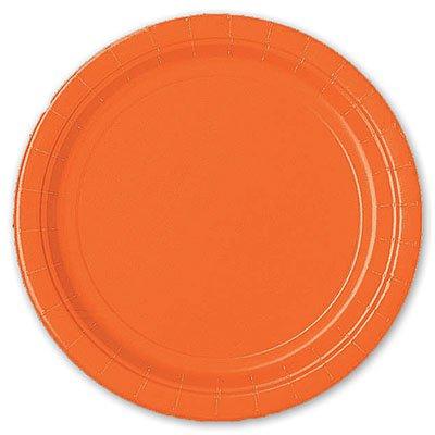 Тарелка Оранжевый Апельсин, 8 штук 1502-1105