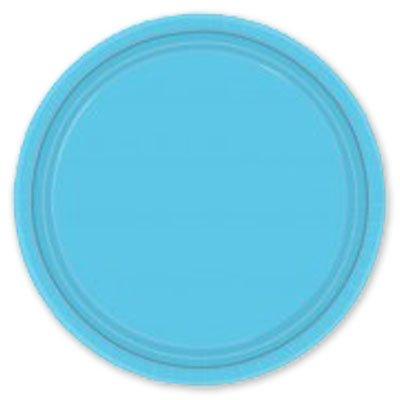 Тарелки Голубые Карибы, 17 см, 8 штук 1502-1108