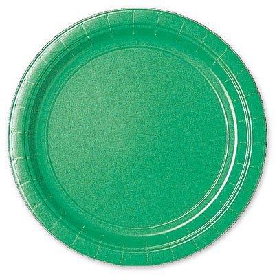 Тарелка Зеленый Изумруд, 17 см, 8 штук 1502-1111