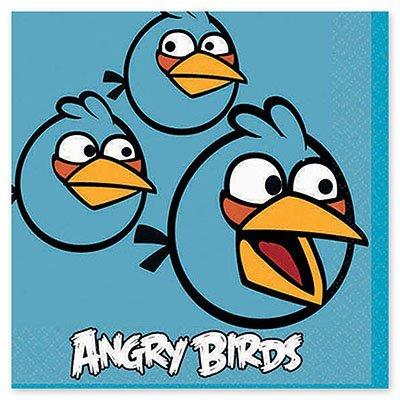 Салфетка Angry Birds, 25 см, 16 штук 1502-1113
