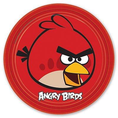 Тарелки Angry Birds, 23 см, 8 штук 1502-1115