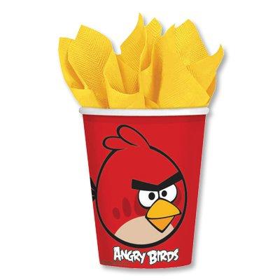 Стаканы Angry Birds, 8 штук 1502-1117