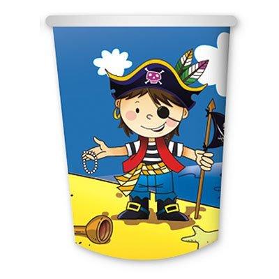 Стаканы бумажные Маленький пират, 6 штук 1502-1292