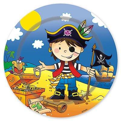 Тарелки малые Маленький пират, 17 см 1502-1296