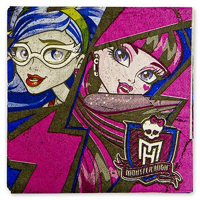 Салфетки Monster High 1502-1327