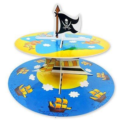 Стойка для кексов 2 ярус Маленький Пират 1502-1367