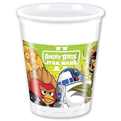 Стаканы Angry Birds STAR WARS, 8 штук 1502-1492
