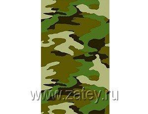 Скатерть бумажная Камуфляж, 1,4х2,6 м 1502-1546