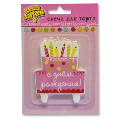 Свечи для торта дн рожд Сладкий Праздник 1502-1622