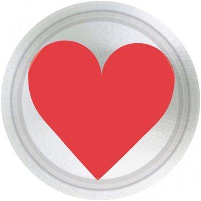 Тарелки малые Ключ к твоему сердцу 1502-1718