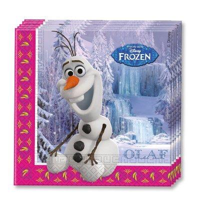 Салфетки Frozen Олаф, 20 штук 1502-1784