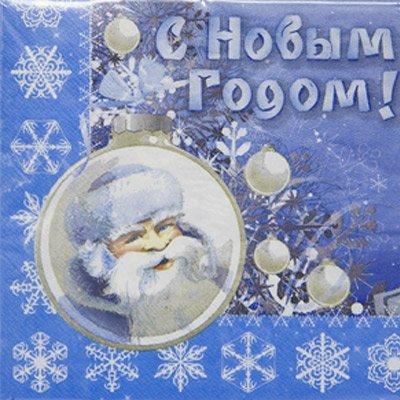 Салфетки НГ Зимняя Сказка, 33 см, 12 шт 1502-1816