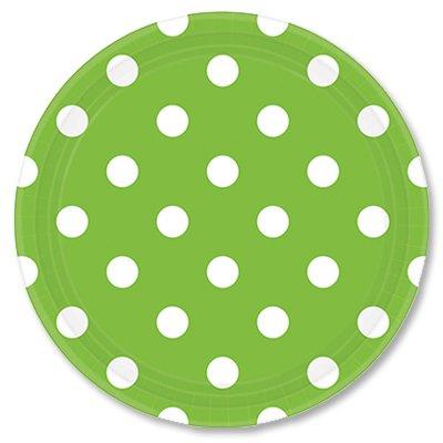 Тарелки Зеленые Киви Горошек, 23 см 1502-1969