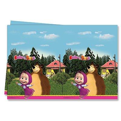 Скатерть Маша и Медведь, 1,2х1,8 м 1502-1983