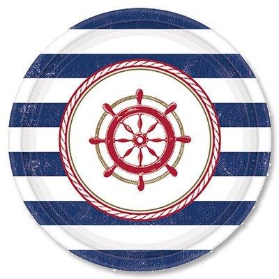 Тарелки малые Морская, 8 штук 1502-1993