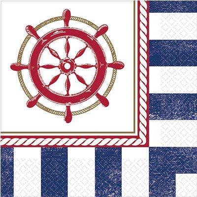 Салфетки малые Морская, 16 штук 1502-1997