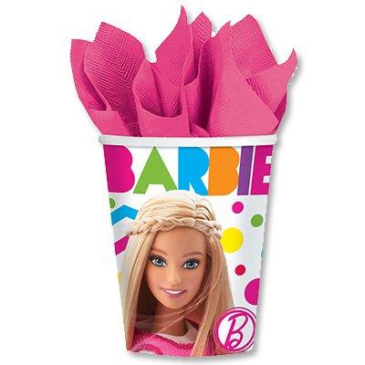 Стаканы Барби, 8 штук 1502-2012