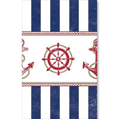 Скатерть Морская, 1,4х2,6 м 1502-2056