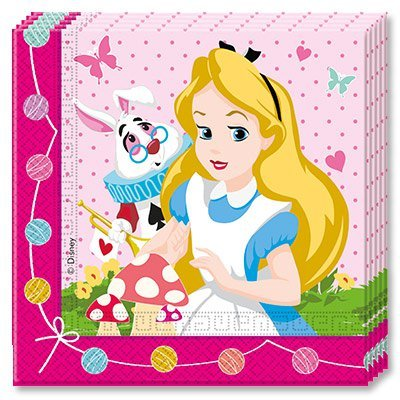 Салфетки Алиса в Стране Чудес, 20 штук 1502-2197