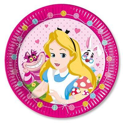 Тарелки Алиса в Стране Чудес, 8 штук 1502-2206
