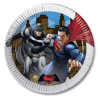 Тарелки большие Бэтмен Vs Супермен, 8 шт 1502-2208
