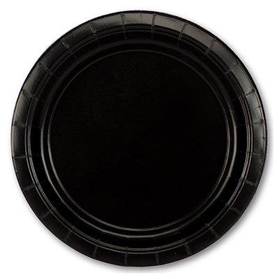 Тарелка Jet Black 17см 8шт/A 1502-2284