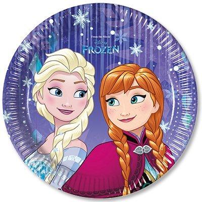 Тарелки малые Холодное Сердце Снежинки 1502-2441