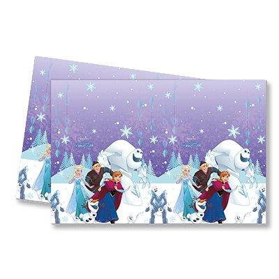 Скатерть Холодное Сердце Снежинки 1502-2474
