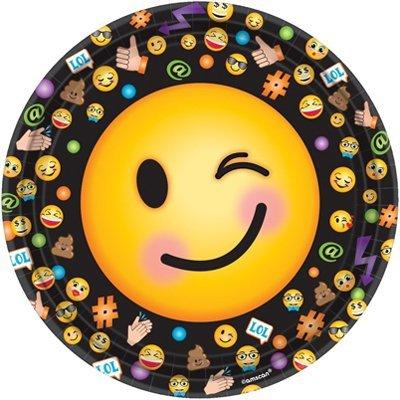 Тарелки большие Эмоции Смайлик 1502-2525