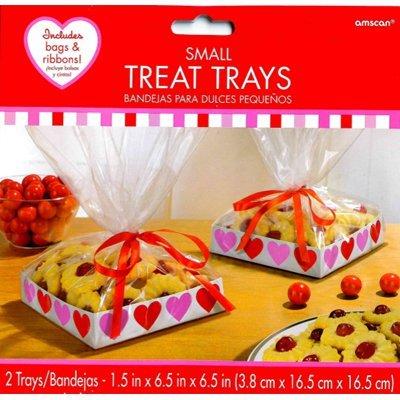 Коробочка для угощений Сердце, 2 штуки 1502-2645