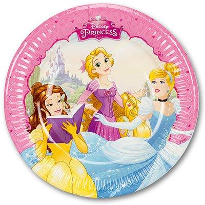 Тарелки Принцессы Мечты 20 см, 8 штук 1502-2804