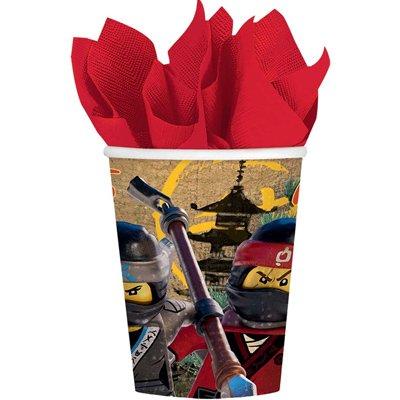 Стаканы Лего Ниндзяго, 8 штук 1502-2944