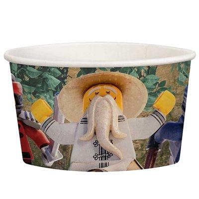Стаканы для мороженого Лего Ниндзяго,8шт 1502-2946