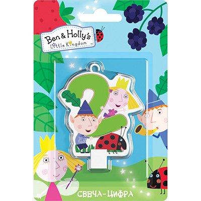 Свеча-цифра 2 Ben&Holly 1502-3023