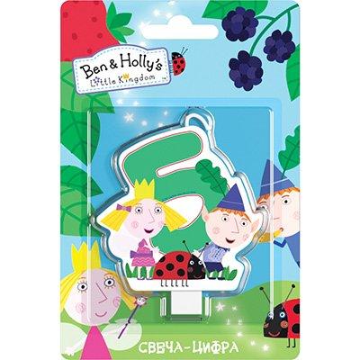 Свеча-цифра 5 Ben&Holly 1502-3026