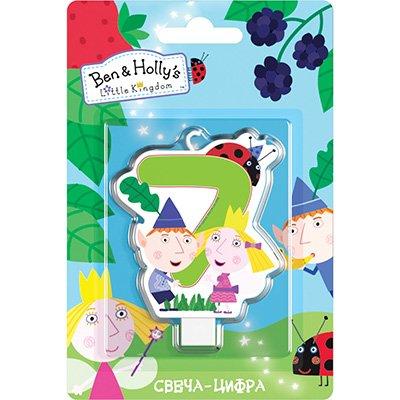 Свеча-цифра 7 Ben&Holly 1502-3028