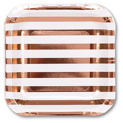 Тарелки малые Розовое Золото 1502-3100