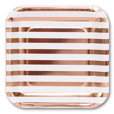Тарелки большие Розовое Золото 1502-3102