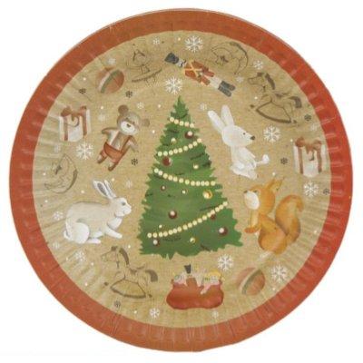 Тарелки малые Зимняя Фантазия 1502-3271