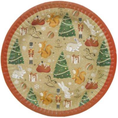Тарелки большие Зимняя Фантазия 1502-3272